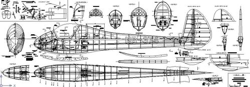 Plans Planeur MOSWEY III